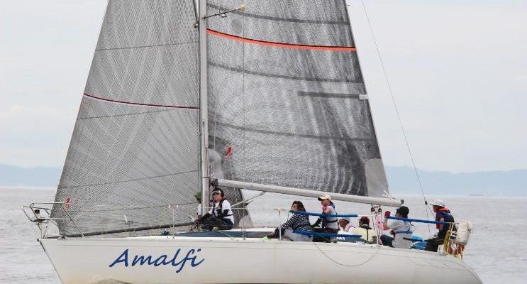 第5回OHYC年間ポイントレース優勝艇Amalfi