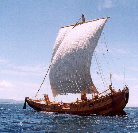 弁財船:写真提供:セーリングヨット研究会