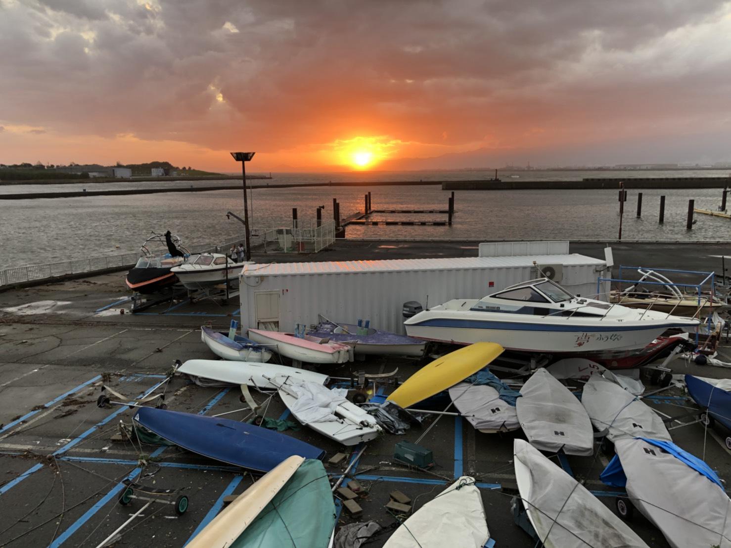 台風21号による惨状